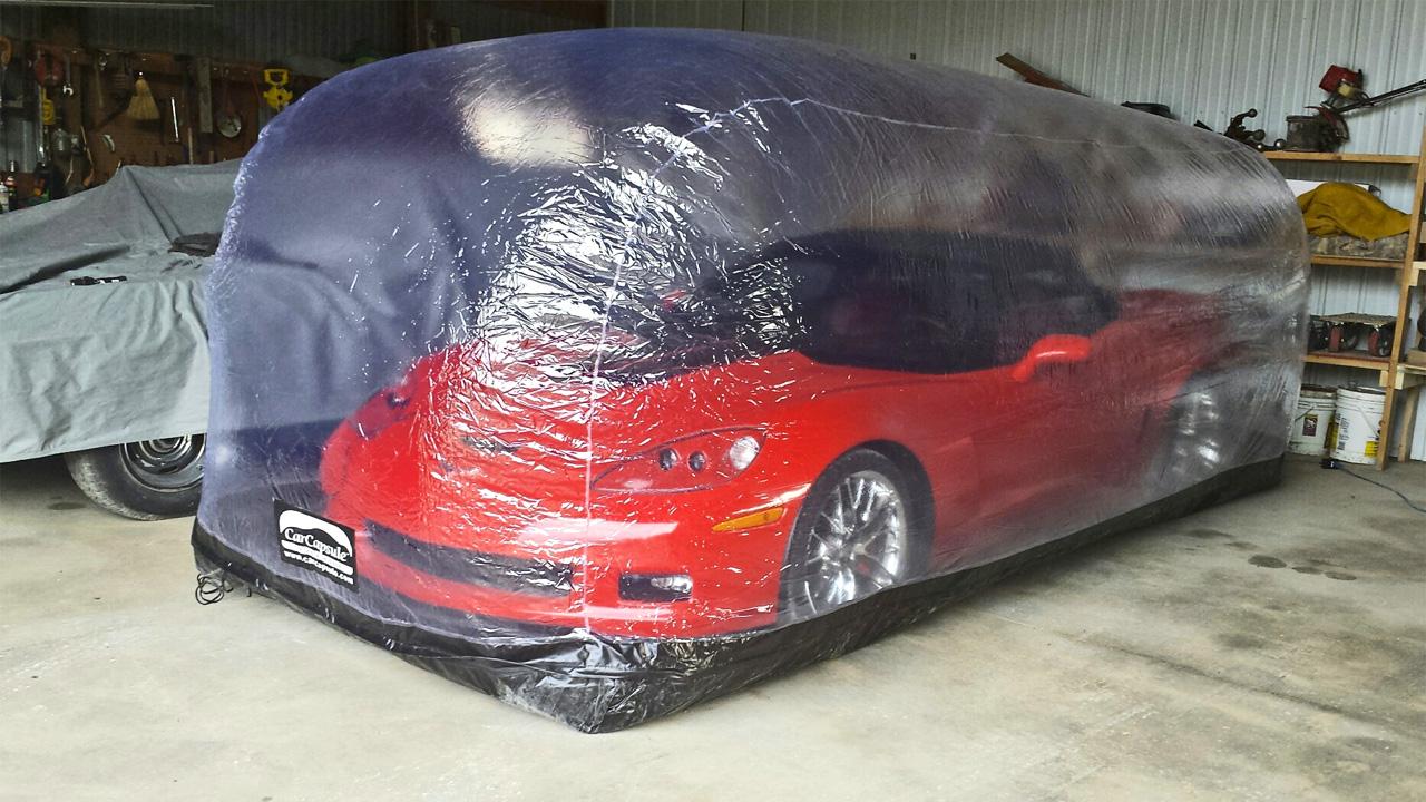 car bubble